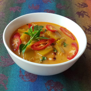 Coconut Pumpkin Curry