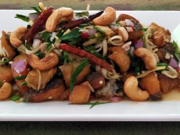 stir fried fish
