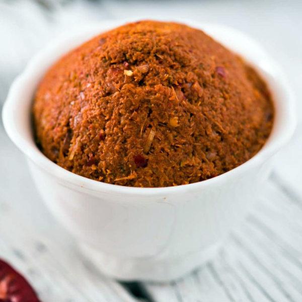 vegan red curry paste