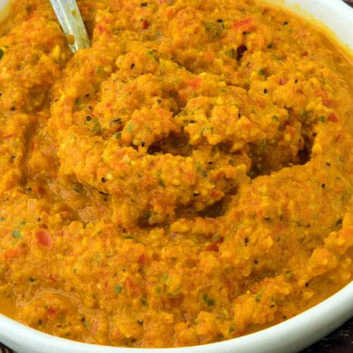 vegan yellow curry paste