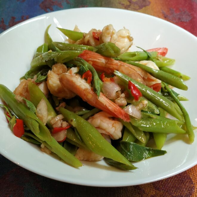 Thai Morning Glory Salad