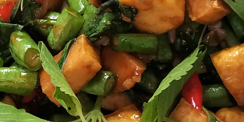 Pad Krapow Tofu